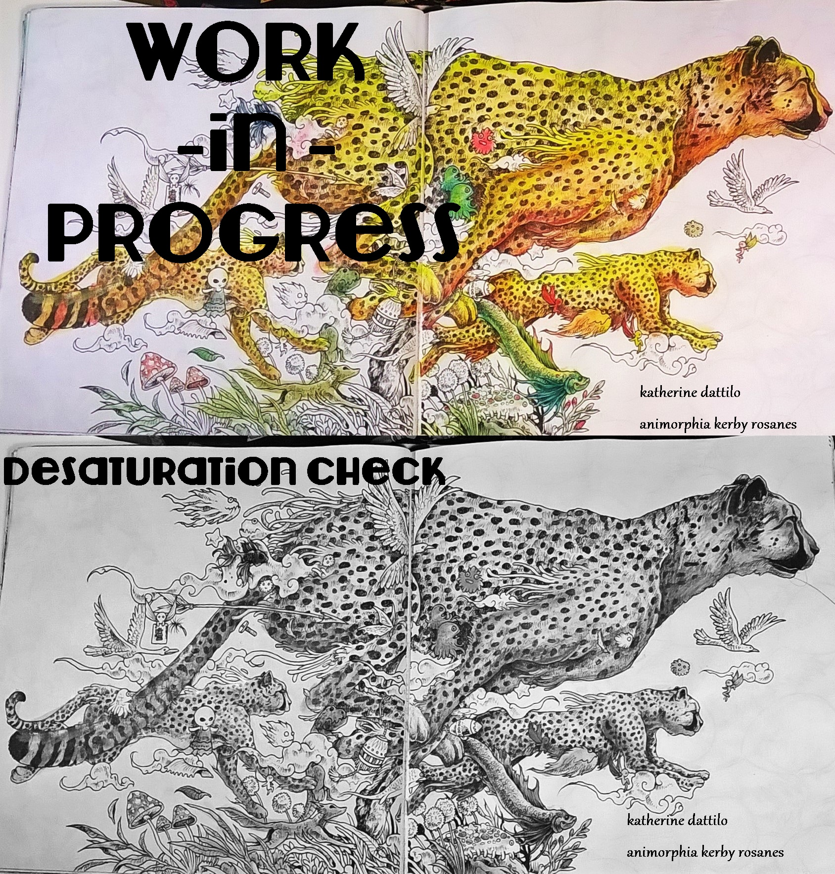 compare cheetah saturation